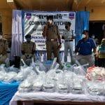 हावड़ा पुलिस आयुक्त सी. सुधाकर आईपीएस के द्वारा PASHE ACHI (कम्युनिटी किचन) का उद्घाटन किया गया