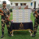 सीमा सुरक्षा बल ने एक विशेष अभियान में 3.5 लाख की सिगरेट जब्त की