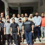 भोजपुरी नवयुवक संघ ने गंगा दशहरा के शुभ अवसर    पर किया गंगा आरती का आयोजन
