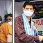 राजीव प्रोडक्शंस द्वारा स्वैच्छिक रक्तदान एवं जरूरतमंदों को राशन वितरण कैंप का आयोजन